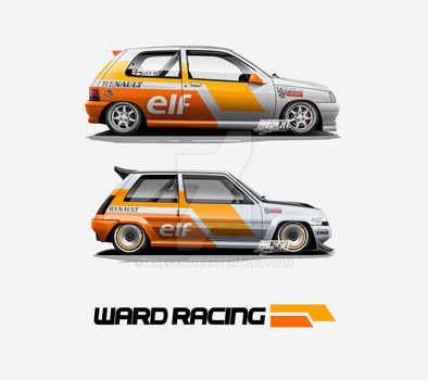 Ward Racing Livery by Axesent