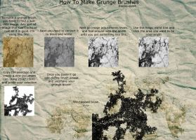 How to make grunge brushes by thethiirdshift
