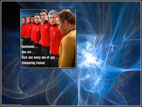 Redshirts Are F*cked Wallpaper by Rabittooth