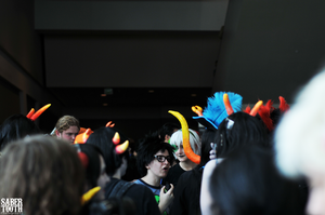 Otakon 2011 - All These Horns by ColdMidnightAirxx