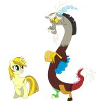 Yellow Star And Discord by PaulyVectors