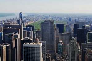 Central Park viewed from Empire State Building by LucieG-Stock