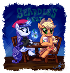 Rarijack-Daily 9.15.14: Evening at a Coffee Shop by WhiteDiamondsLtd