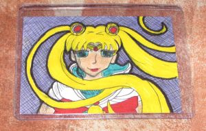 Sailor Moon ACEO -For Sale $20 Includes US Ship- by TheFlyinFerret
