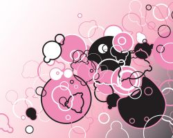 1280x1024 black n pink by antoshea