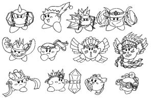 CONCEPT ART: KOoD - Kirby's Compound Abilities 1/2 by ChronoWeapon