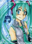ACEO: Miku Hatsune by ICanReachTheStars