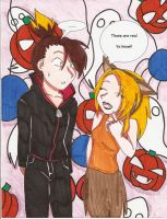 Ando and Destry's Halloween by Anime-Ani