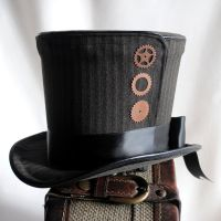 Steampunk Top Hat by RagDolliesMadhouse