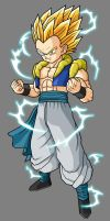 Gotenks, SSJ2 by hsvhrt