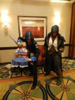 Anime Los Angeles 2015 Assassin's Creed duo pt.2 by Demon-Lord-Cosplay