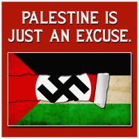Palestine is just an Excuse by israVectors