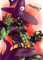 Battle Witch by Pltnm06Ghost