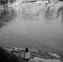 Epsilon - Ilford - at the water by Picture-Bandit