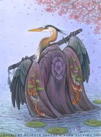 Great Blue Heron by darknatasha