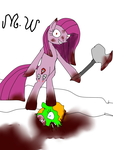 Pinkamena The Cruel Pony ( Digitized remake ) by cynder45667