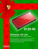 Nintendo DS Lite Advertisement by Israel50