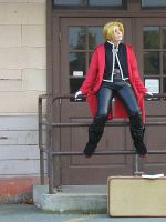 Cosplay - Edward Elric - wait by hanyaanfaery