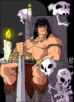 King Conan by scarecrowhassan by jamesewelch