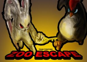 Zoo Escape Poster Art by superMARIAbros