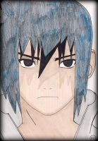 Sasuke Uchiha by Oskar-Draws