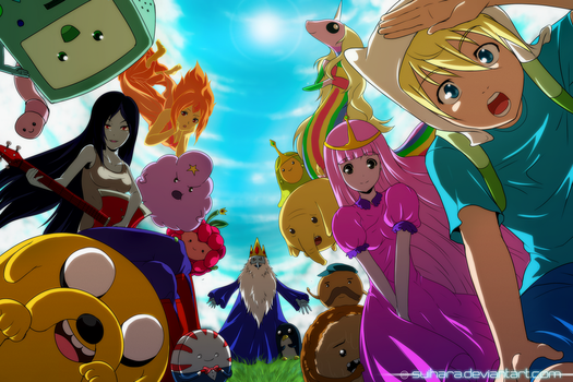 Adventure Time  By Suihara-d5aonts by princessbublegum
