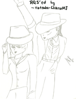 Posing By A Smooth Criminal by BabysmoothMJ01