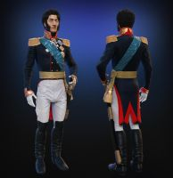 General Peter Bagration full body. by Andreevsky