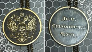 Russian coat of arms pendant by TimforShade
