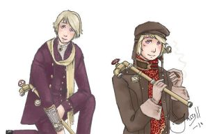 SteamPunk Russia by Jacyll