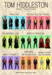 Tom Hiddleston Outfits by Marisflowers