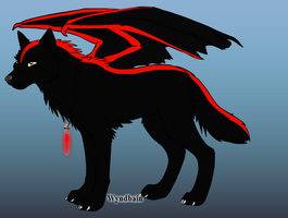 Red Shadow, Alpha felame: Tribal Dark Spirit pack by iW-O-L-F