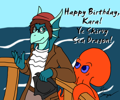 Birthday - Doodle-a by Ross-Sanger