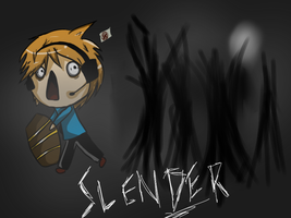 PewDiePie with Slender by KeitorinSukotto