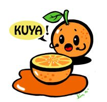 orange juice by kim-atienza