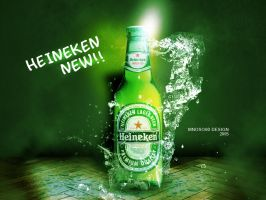 heineken design by mnoso90
