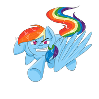 Rainbow Dash by CartoonOwl