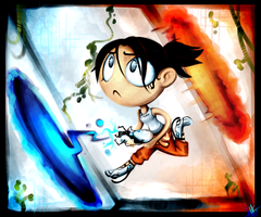 Mini Chell - Portal by pikminAAA