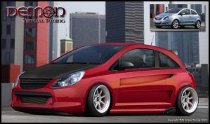 Opel Corsa for comp on DA VT by TMSVirtualTuning