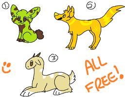Free Adopts (CLOSED) by Gravitii