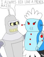 Bender meets Rosie by RoccoBertucci