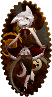 :AT: Lady Steampunk by Diaminerre