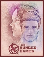 The Hunger Games Poster by omarcain