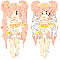 100 Theme Adoptable Challenge - 5. Air (CLOSED) by LittleAlyce