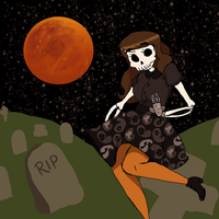 Spooky Scary Skeletons by RosyAutumn
