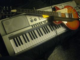 my Guitar and keyboard by ownerfate