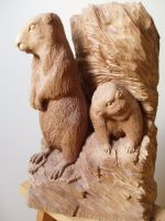 bergmarmotten by woodcarve