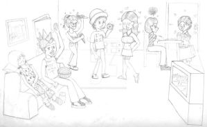 The 7 Deadly Dorm Room Sins by Shadowed-Serenity