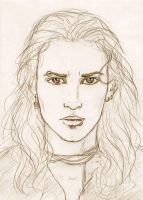 Male vampire-sketch by Sjostrand