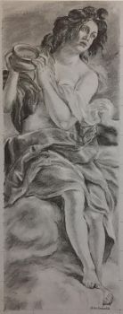 ArtemisiaGentileschi Allegory Of Inclination Study by PaintedLiLy